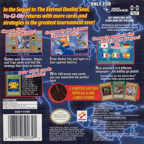 yu gi oh duel edition stairway worldwide gba destined nicerom rom n64
