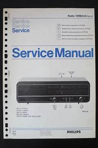 Philips Radio 19rb244 Service Manual  Manual  Wiring Diagram