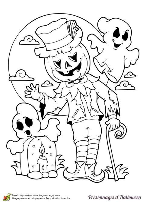 page  sur  sur hugolescargotcom coloriage haloween coloriage halloween  imprimer
