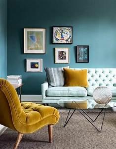 1001 idees creer une deco en bleu et jaune conviviale With affiche chambre bébé avec tapis de relaxation fakir