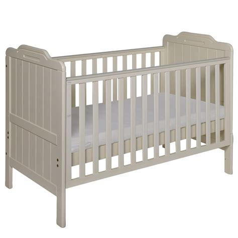 cot with mattress tutti bambini nursery furniture cots cot beds alexia