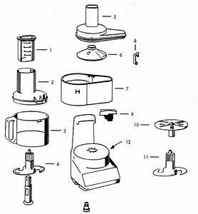 food processor With cpu parts diagram
