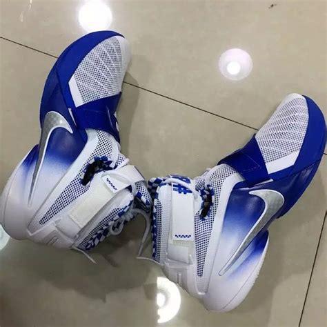 nike lebron soldier  kentucky big blue nation sneaker