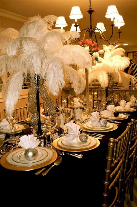 great gatsby party decorations ideas oosile