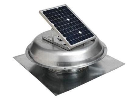 Solar Powered Garage Fan by Garage Exhaust Solar Attic Fan Vent Kit Solar Powered