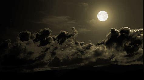 Landscape, Storm, Moon, Sky Wallpapers Hd / Desktop And