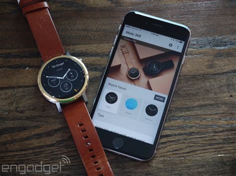 moto 360 for iphone moto 360 review 2015 more than just looks this