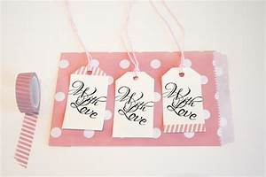 Wedding favor tags quotwith lovequot luggage tag printable for Wedding favor luggage tags