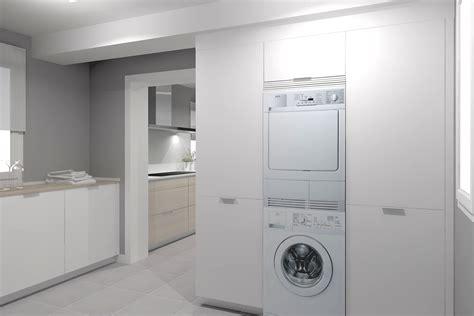 zona de lavanderia como aprovechar el espacio cocinas