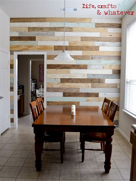 plank wood walls life crafts whatever my plank wall finally