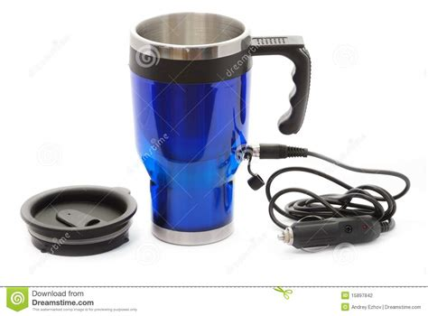Electric Coffee Thermos Mug Stock Photography Best Instant Coffee With Creamer And Sugar Maker 1 Cup Walmart Brands Bean Grinder Cleaner Quality Keurig Black Friday Reviews Australia Mr Keeps Beeping