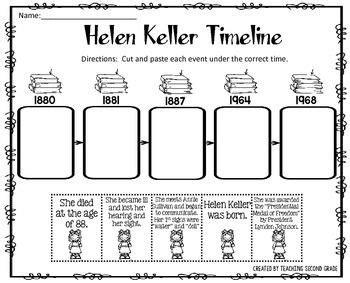 helen keller activities quot teachers pay teachers best of 292 | eef83d3ef06addd525f474b6cbb7018c