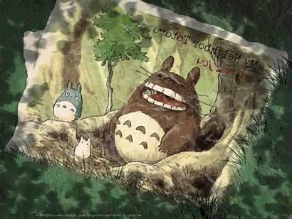 Totoro Ghibli Studio Neighbor Desktop Px Background
