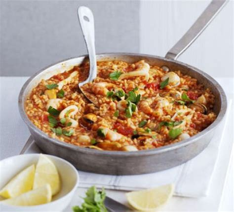 cuisine paella easy paella recipe food