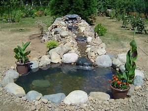 Kleiner Bachlauf Garten : kleiner bachlauf garten mit gartenteich selber bauen diy ~ Michelbontemps.com Haus und Dekorationen