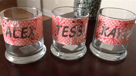 create glass etching  silhouette cameo diy