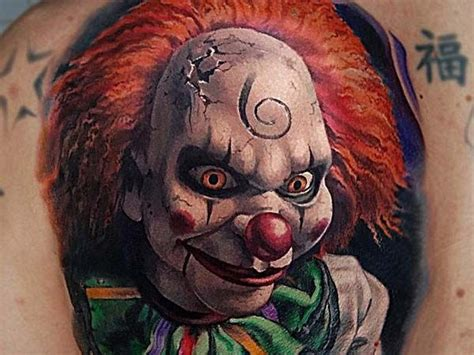 28 Best Faces/ Masks / Horror / Creepy / Tattoo Ideas