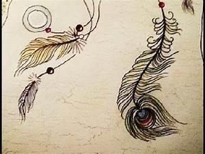 Dessin De Plume Facile : dessiner une plume youtube ~ Melissatoandfro.com Idées de Décoration