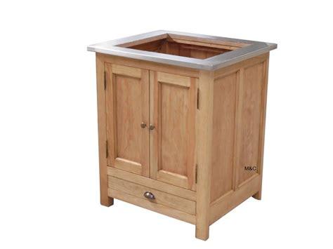 meuble de cuisine bois meuble cuisine bois massif