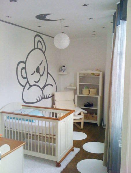 exemple chambre bébé idee papier peint chambre pour rafraichir une chambre