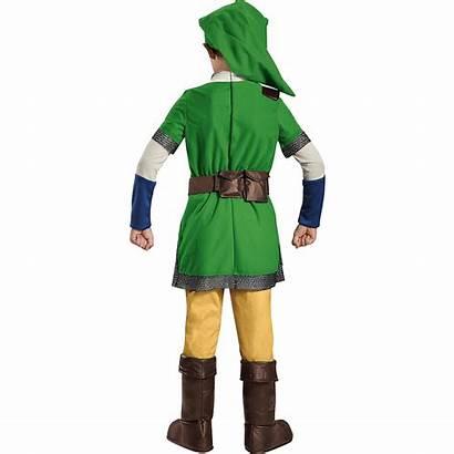 Zelda Link Legend Costume Boys Deluxe Icon