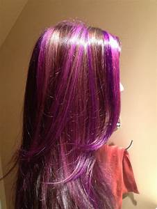 Purple and Pink highlights | Our Work