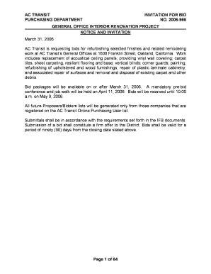 fillable office renovation notice sample edit print