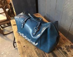 Sac De Sport Cuir : authentique sac de sport adidas vintage ~ Louise-bijoux.com Idées de Décoration