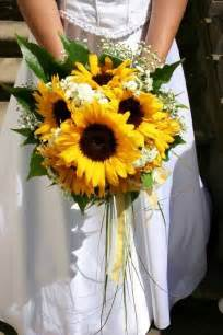 sunflower wedding ideas memorable wedding sunflower wedding bouquet ideas