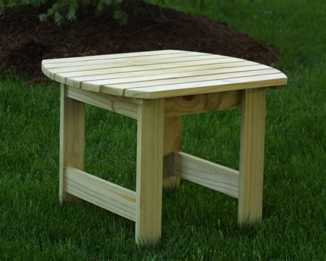 adirondack side table diy ideas