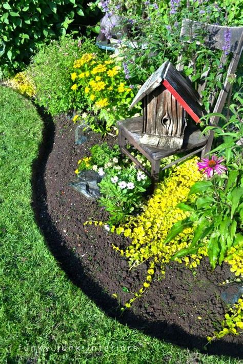 Flower Bed Edger by Beautiful Flowers Garden Beautiful How To Edge A Flower