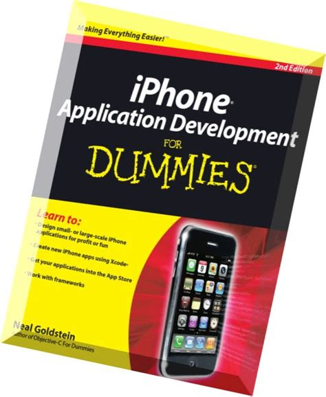 iphone for dummies iphone application development for dummies 2nd