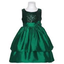 bonnie jean green sequin sleeveless christmas dress little girls 4 6x