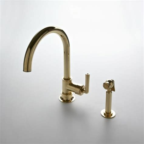 Waterworks Brass Kitchen Faucets by Design On Tap Choosing The Right Kitchen Faucet For Your