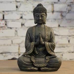 Grande Statue Bouddha Pas Cher : bouddha hauteur 40 cm achat vente bouddha hauteur 40 cm pas cher soldes d s le 10 janvier ~ Teatrodelosmanantiales.com Idées de Décoration