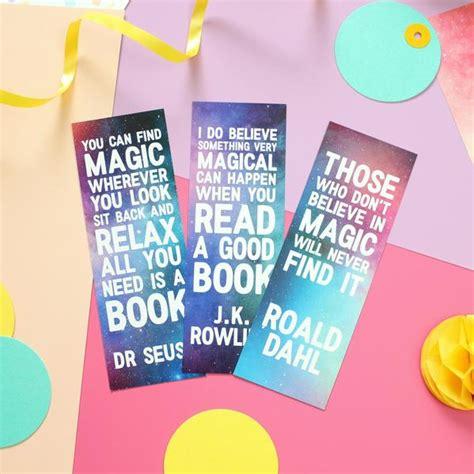 magic quotes bookmark set nook burrow