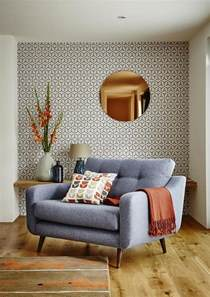wallpaper livingroom decorating with retro wallpaper 32 eye catchy ideas digsdigs