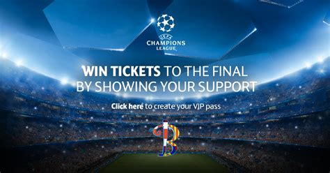 Win VIP tickets for the Champions League final, courtesy ...