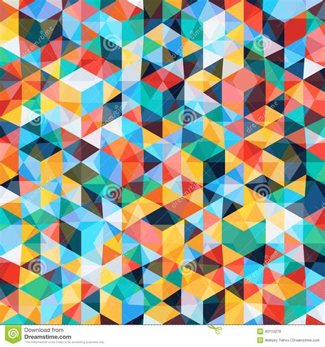 abstract mosaic pattern stock vector image 40113279
