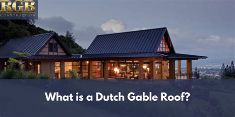 dutch gable roof rgb construction
