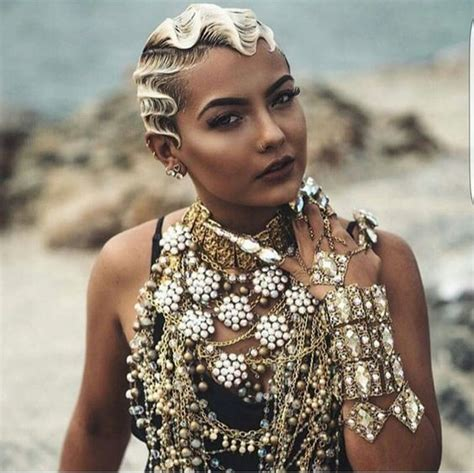hairstyles  rock   beach