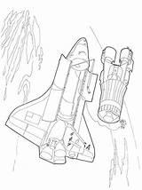 Transportation Spaceship Spatiale Navette Coloring Transport Coloriage Kb Coloriages sketch template