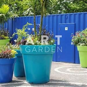 Grand Pot De Fleur Pas Cher : grand pot fleur rond plastique pas cher pour jardin et ~ Premium-room.com Idées de Décoration