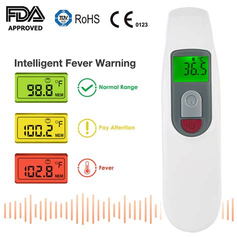 China Digital Forehead Fever Thermometer for Home Use ...
