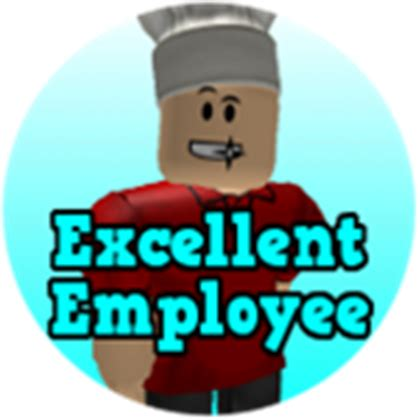 Excellent Employee Roblox