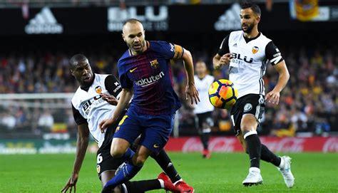 Валенсия - Барселона: счет, статистика и результат матча 7 октября 2018 | LiveSport.ws