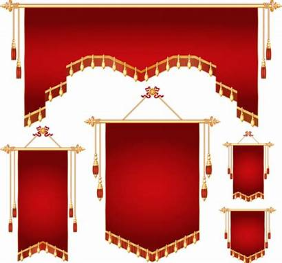 Banner Shapes Clipart Royal Vector Different Banners