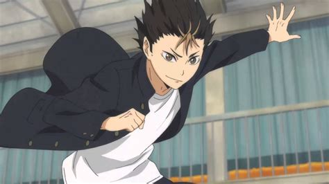 nishinoya haikyuu im awesome amv youtube