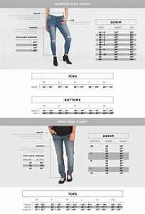 Size Charts  U2013 Bluenotes