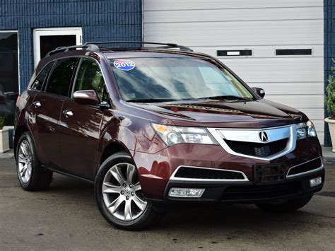 used 2012 acura mdx advanceentertainment pkg at auto house